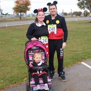 upper dauphin family at trick or trot