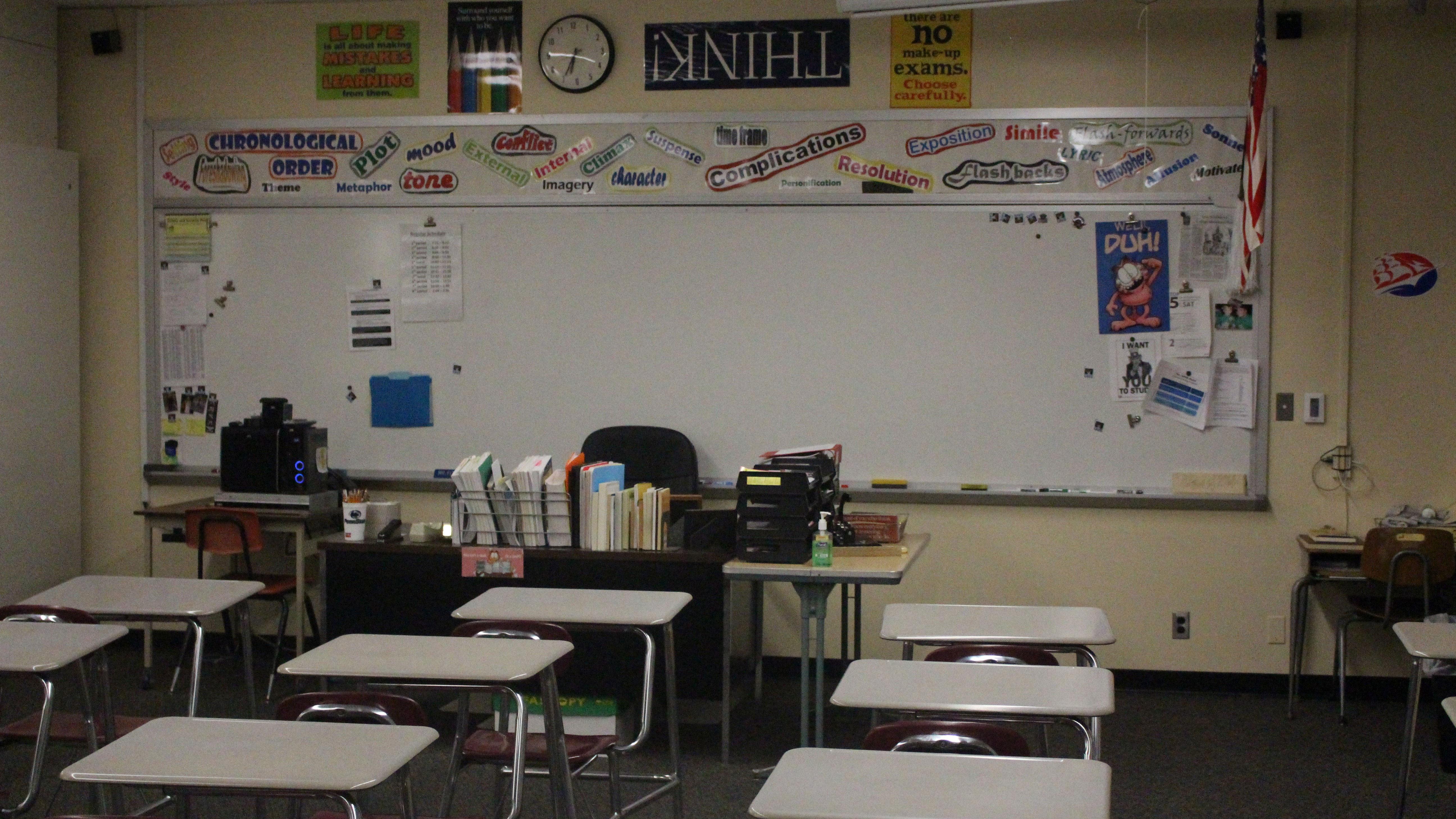 upper dauphin area english classroom