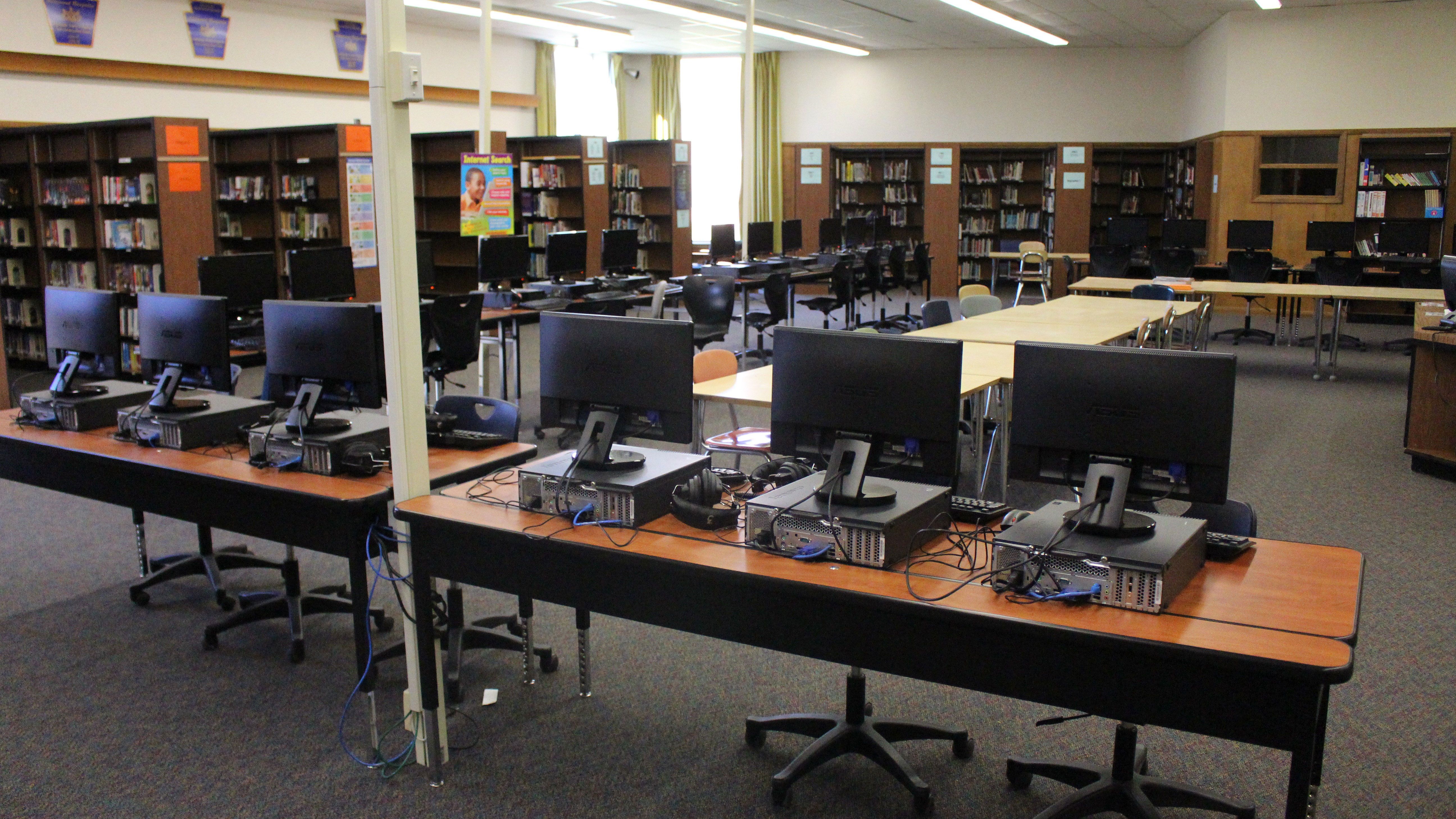 upper dauphin middle school library