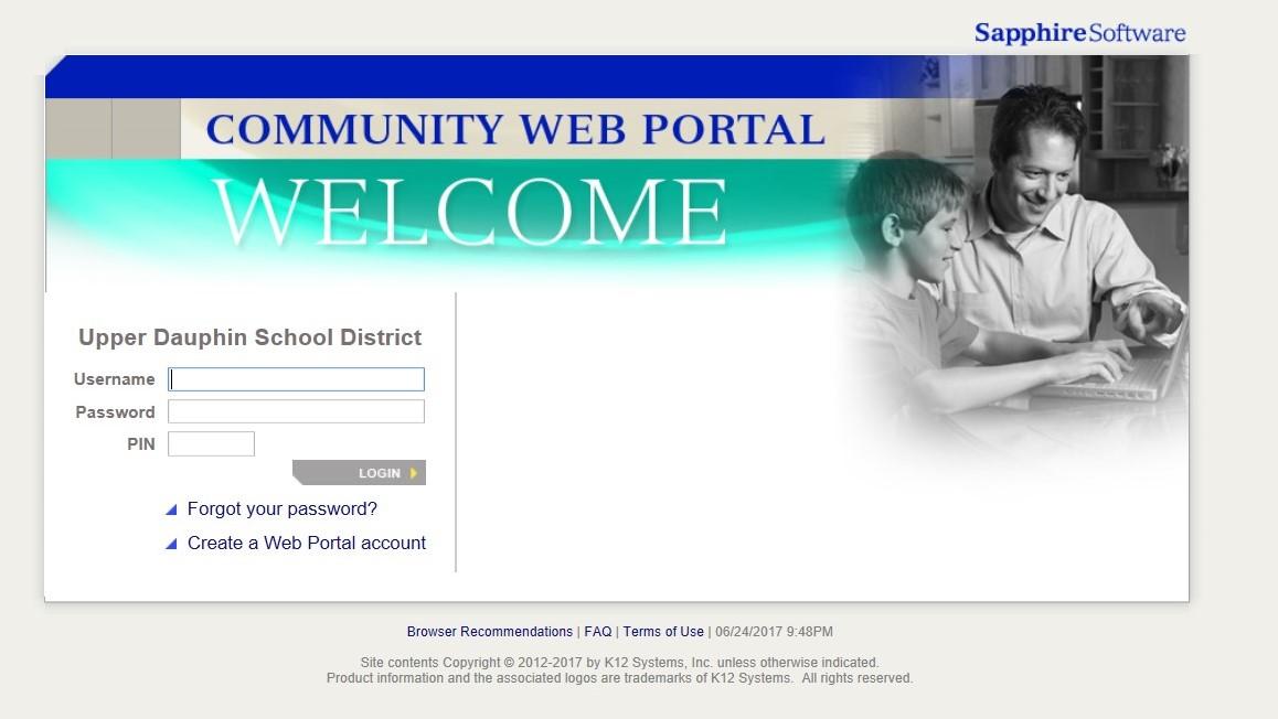 sapphire community web portal