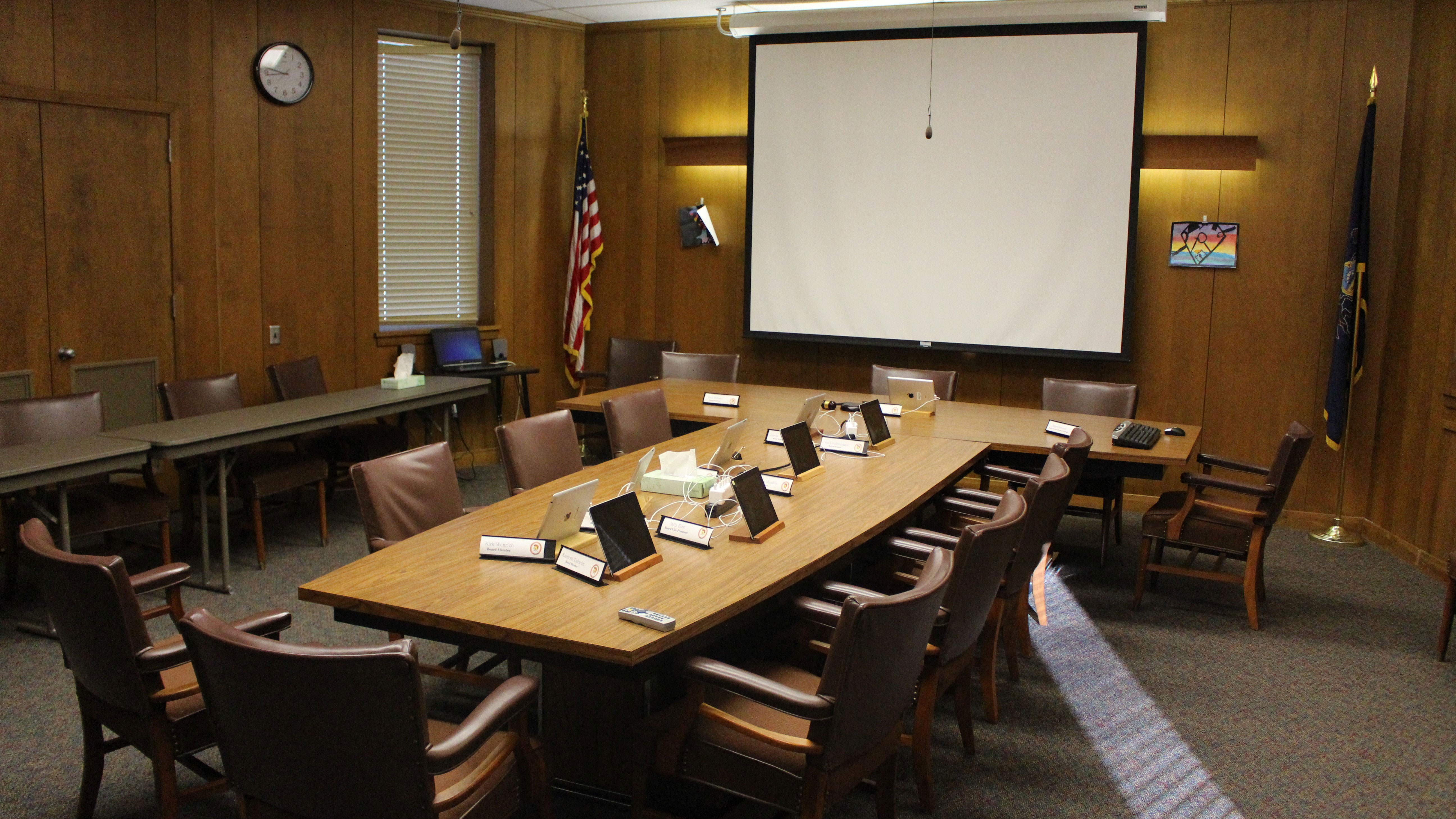 upper dauphin area school board room