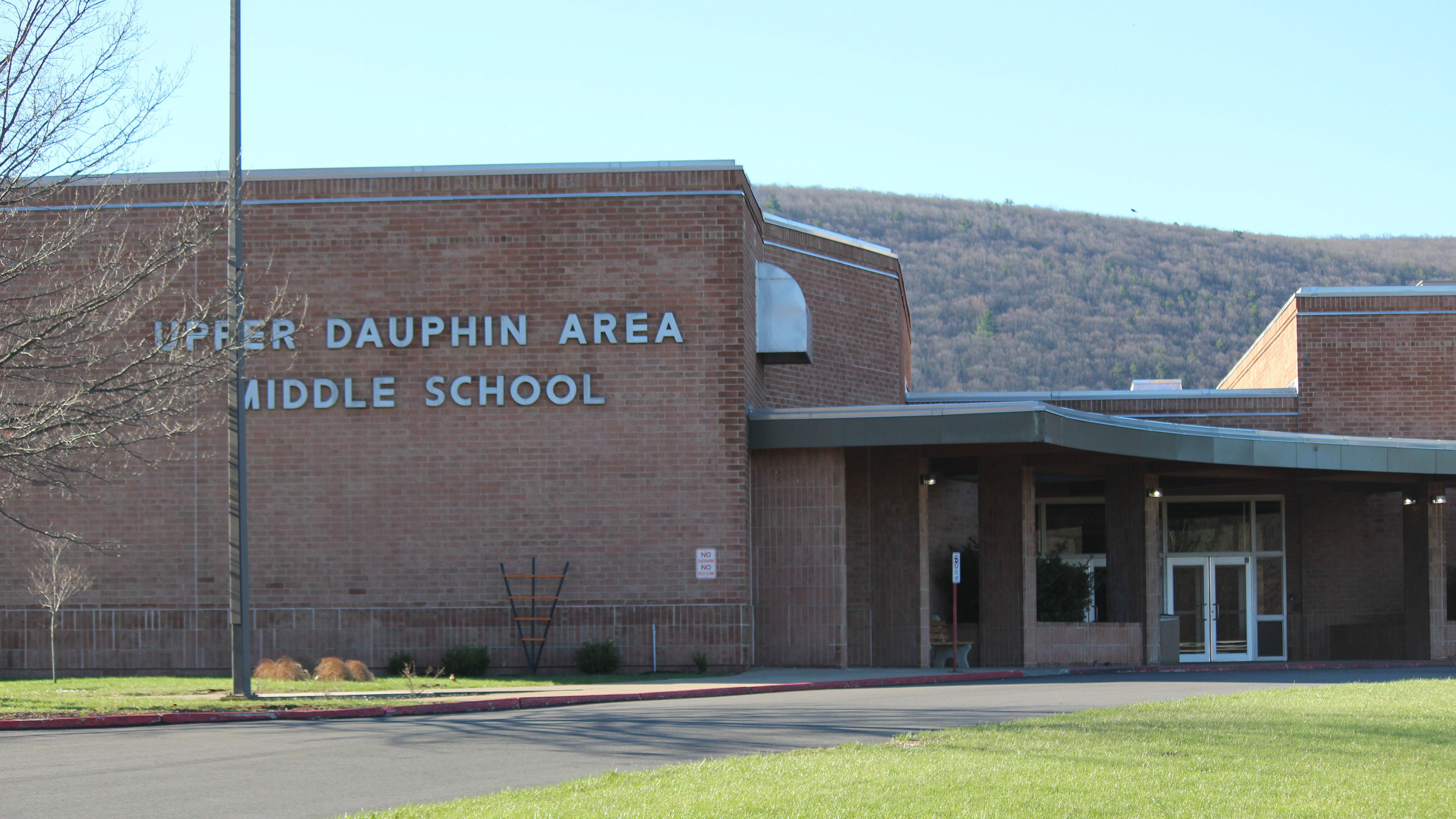 upper dauphin area middle school building