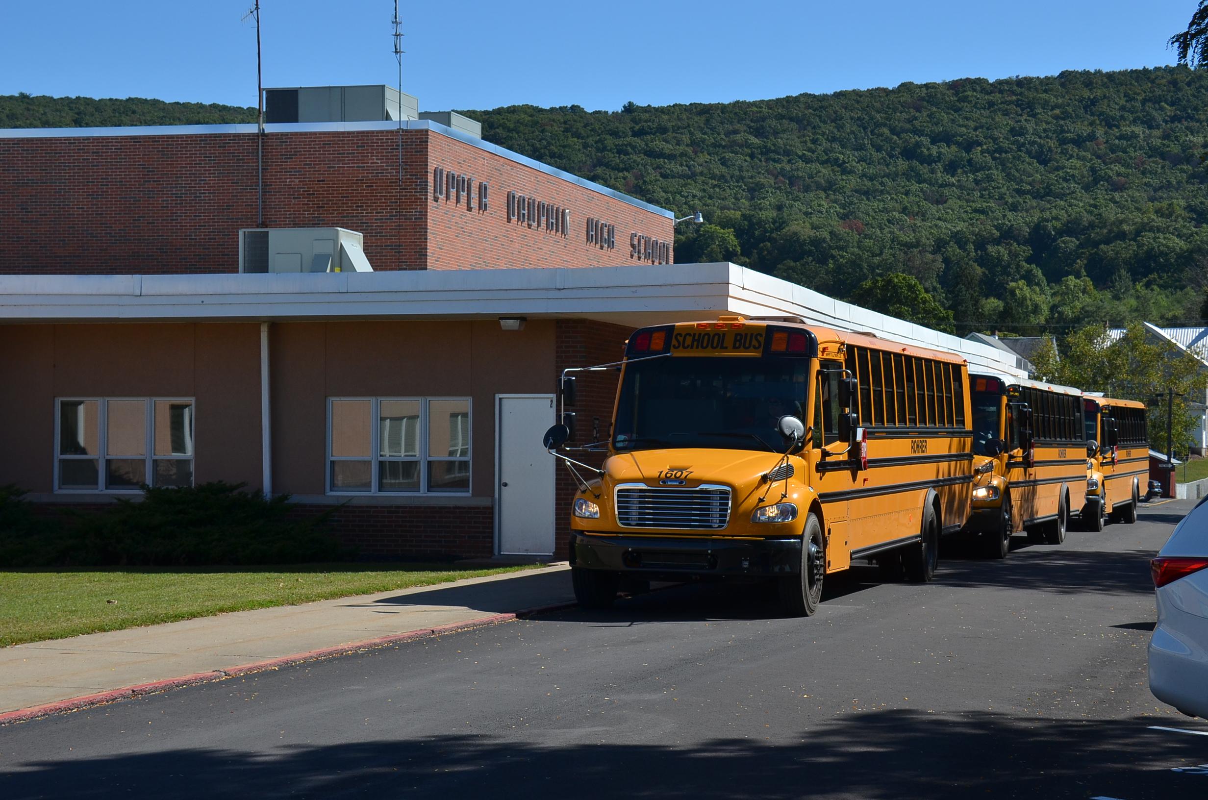 upper dauphin high school bus